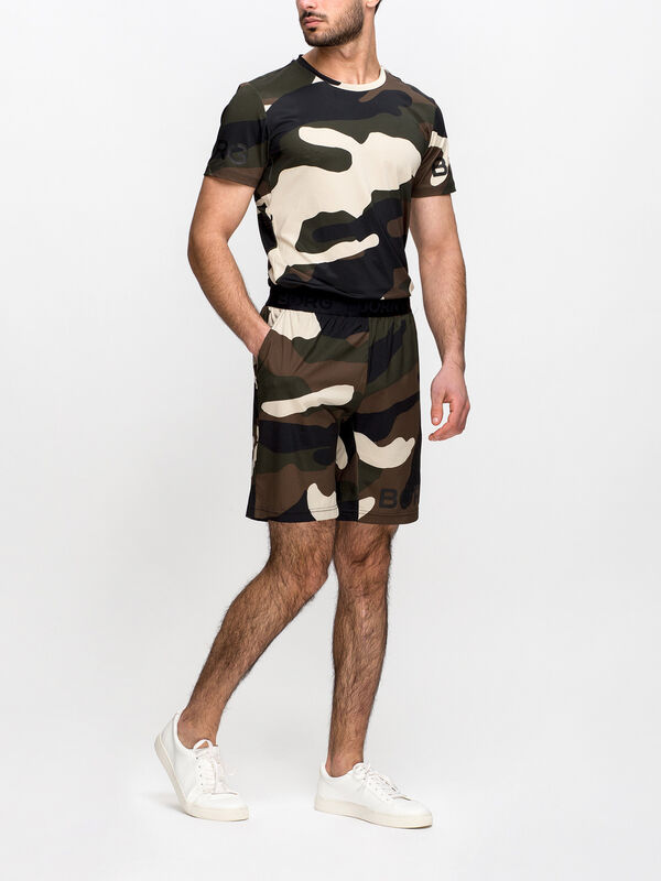 August Camo Shorts