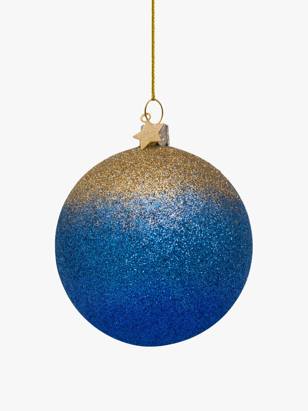 Degrading Effect Glitter Christmas Decoration