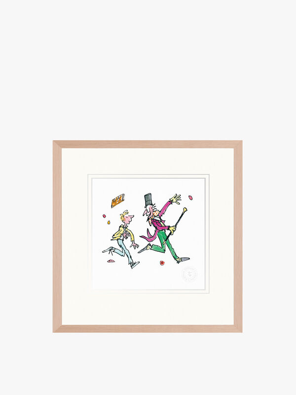 Charlie and the Chocolate Factory Framed Print by Fenwick (No.2)