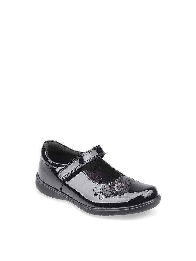 Wish Black Patent School Shoes