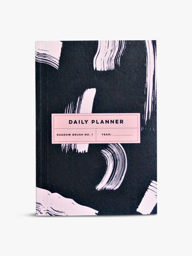 Daily Planner Shadow Brush Notebook