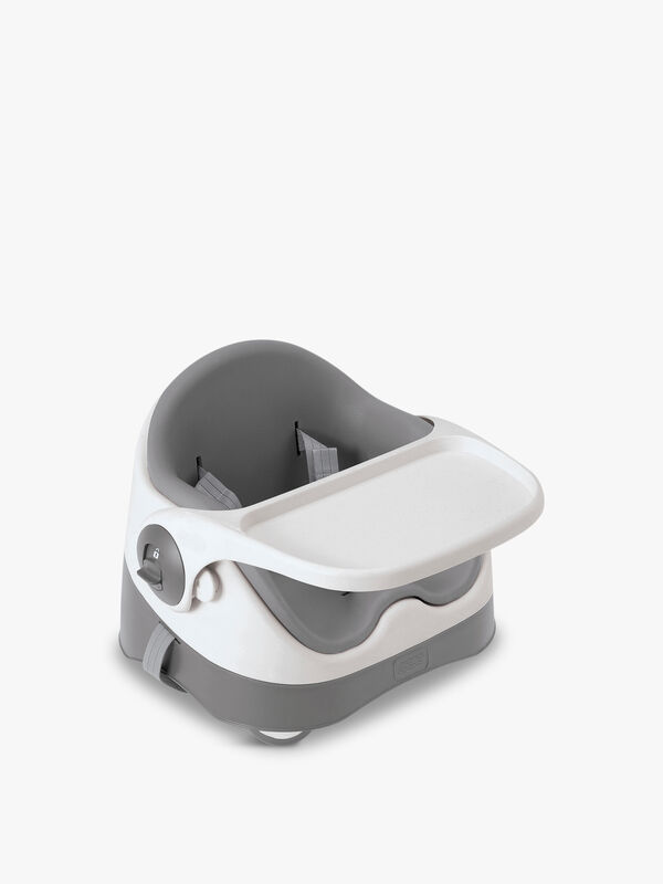Bud Booster Seat Grey