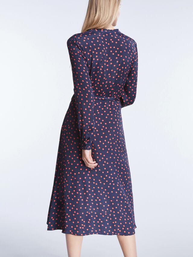 Long Polka Dot Dress