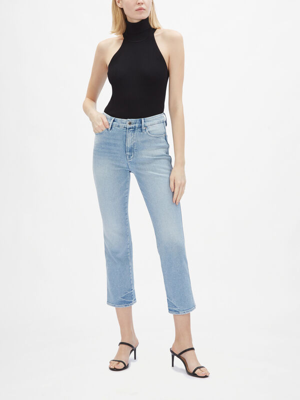 Good Curve High Rise Straight Jeans