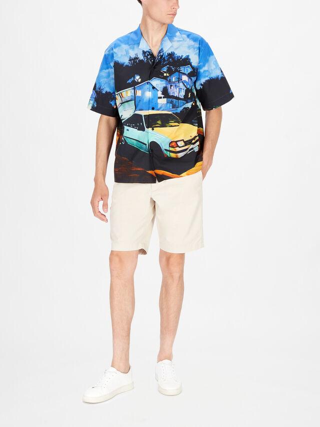 Car Print Shirt