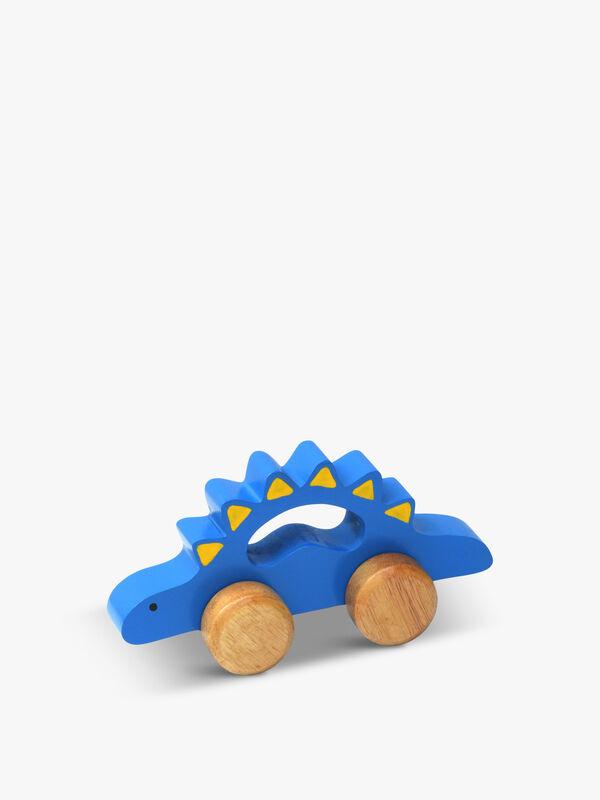 Wooden Dino Roller