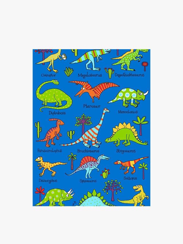Dinosaur Snuggle Blanket