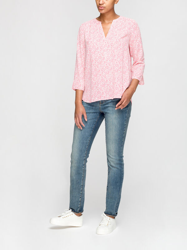 Perfect Winsor Floral Pink Blouse