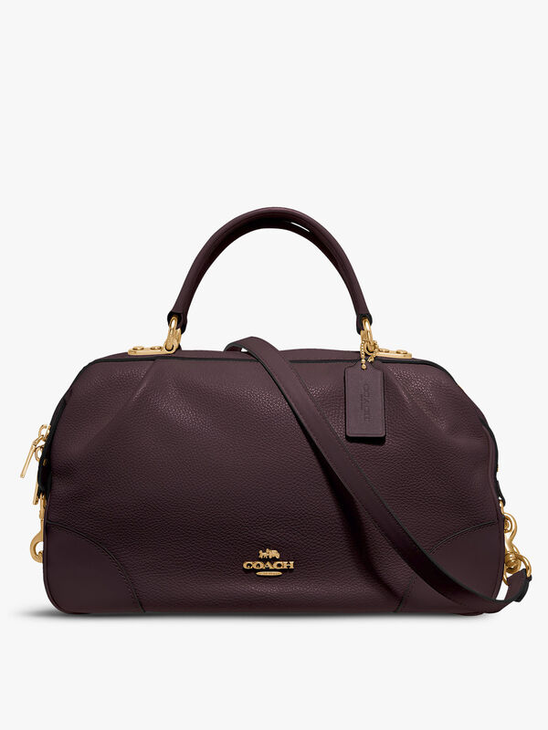 Polished Pebble Lane Satchel