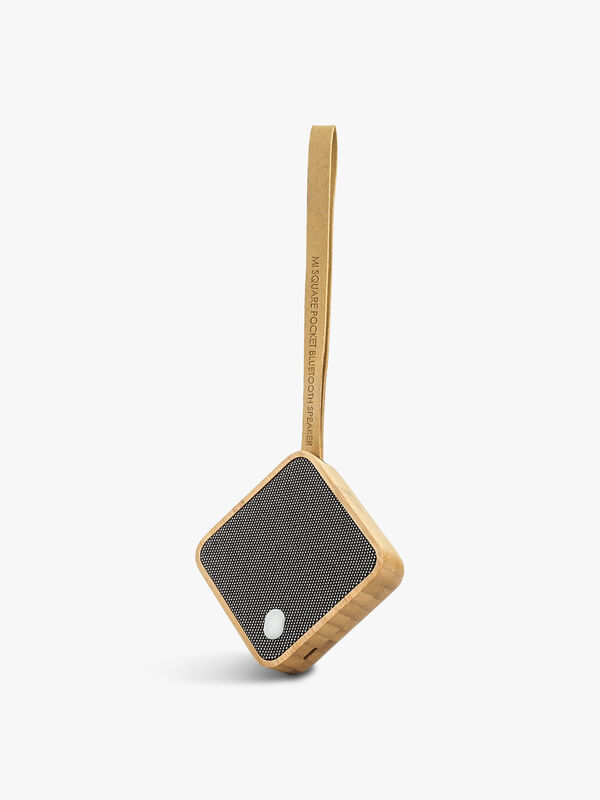 Mi Square Bluetooth Speaker Natural Cherry