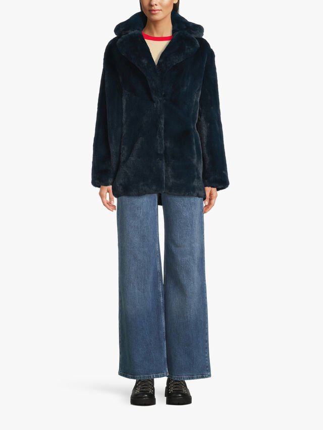 Heather Wear & Care Coat