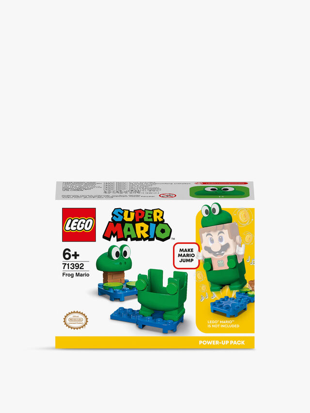 Super Mario Frog Mario Power-Up Pack Toy 71392