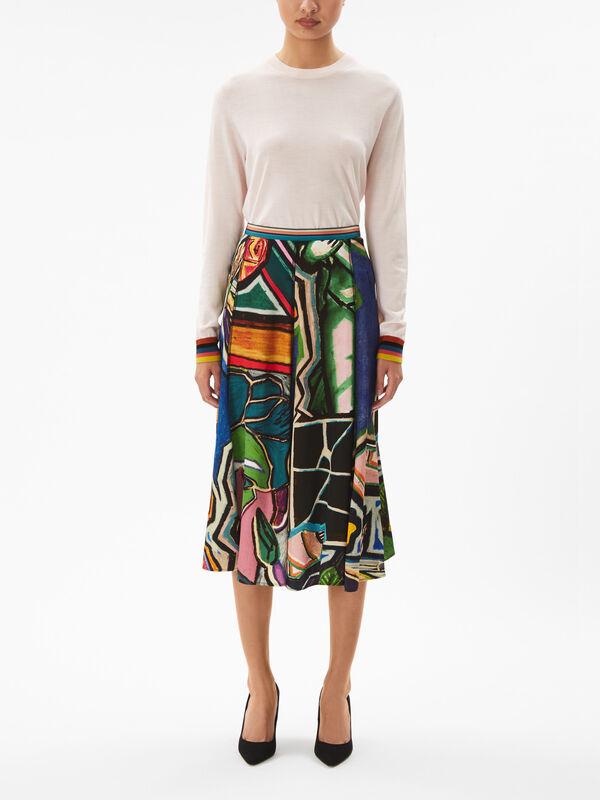 Artist Studio Skirt