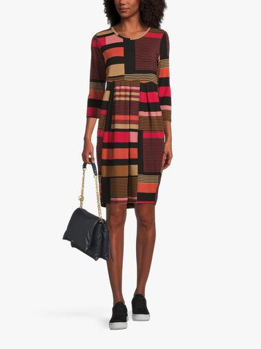 Noma-3-4-Slv-Jersey-Stripe-Mix-Dress-1004328