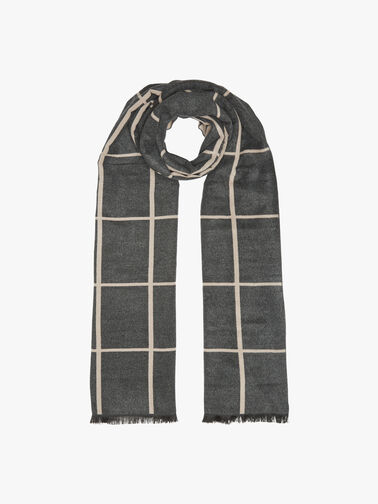 Musk Checked Scarf