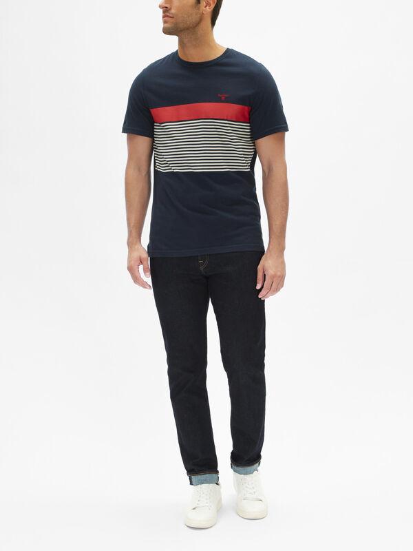Braeside Chest Stripe T-Shirt