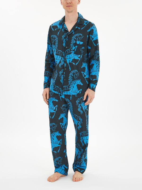 Caballo Print Pyjama Shirt