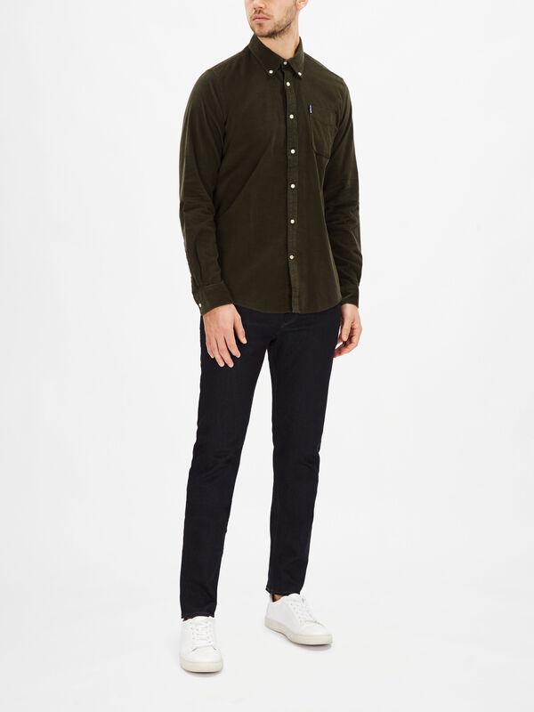 Slim Cord Shirt