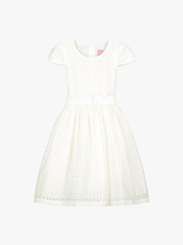 Sienna Cotton Embroidered Dress