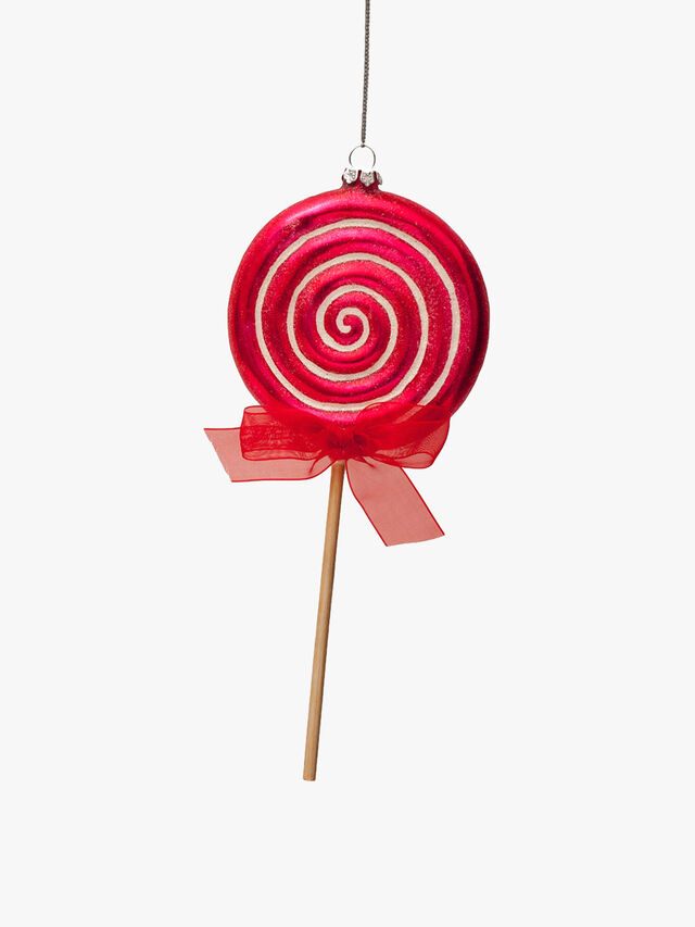 Swirly Lolly Hanging Decoration
