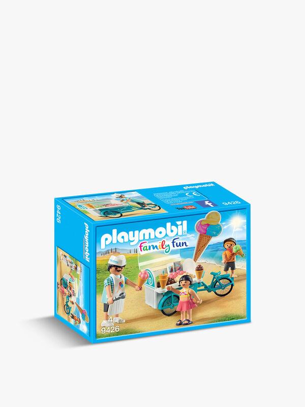 Family Fun Ice Cream Cart