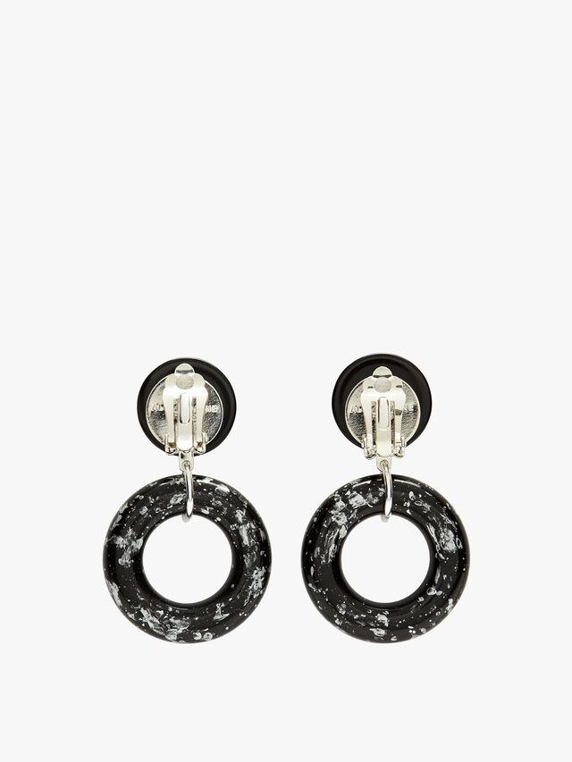 Medium Open Circle Earings