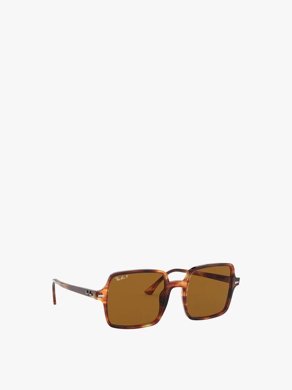 Thin Square Acetate Sunglasses