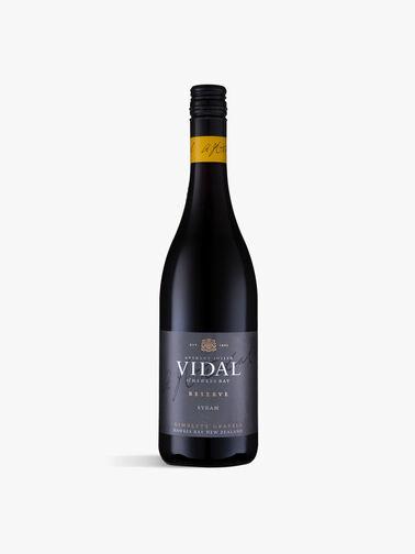 Vidal Reserve Syrah 75cl