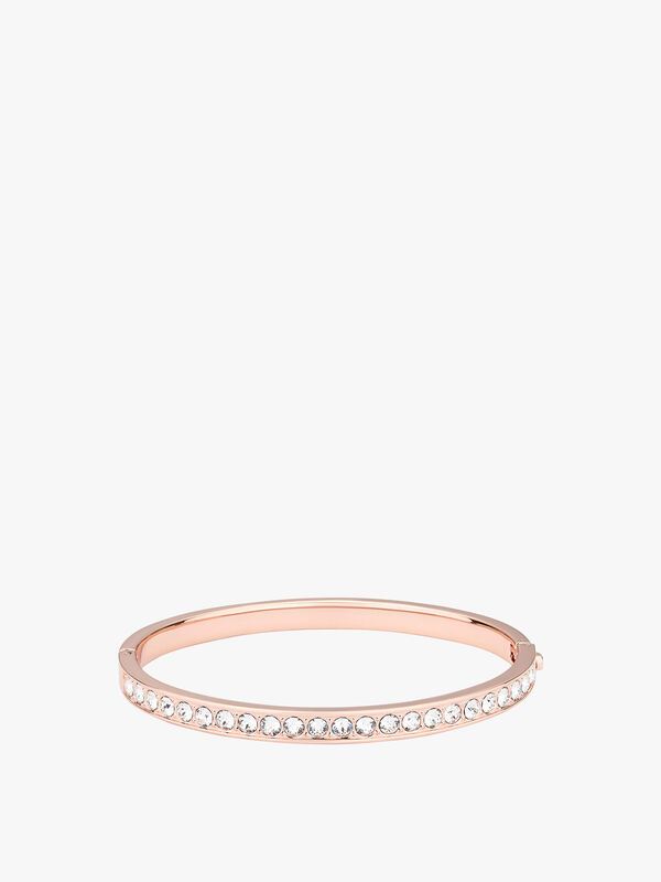Clemara Hinge Crystal Bangle