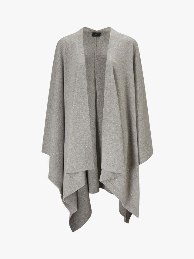 Oversized Scatter Cape