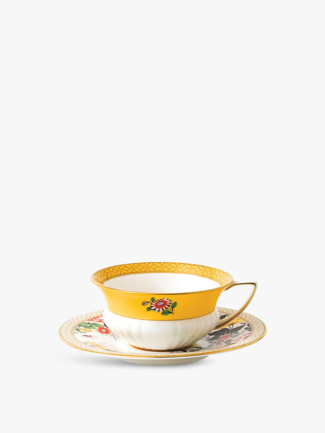 Wonderlust Primrose Teacup & Saucer