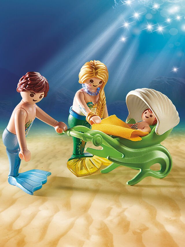 Magic Family with Shell Stroller