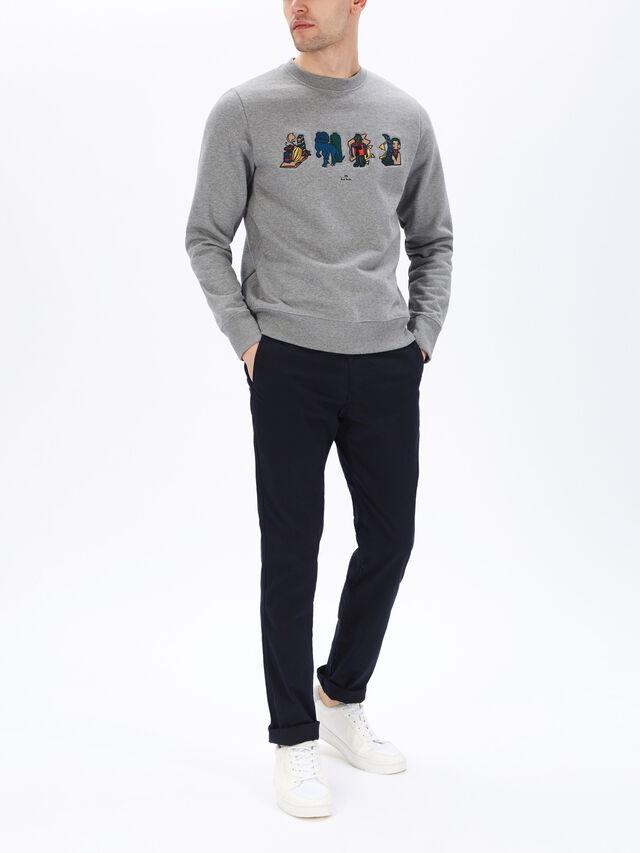 Fenwick Exclusive Embroidered Objects Sweatshirt