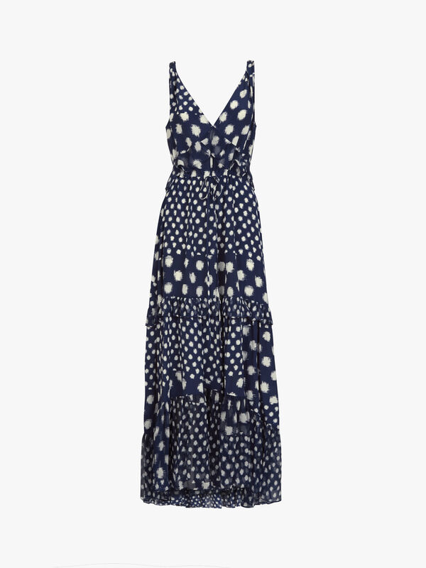Misha Ruffle Maxi Dress