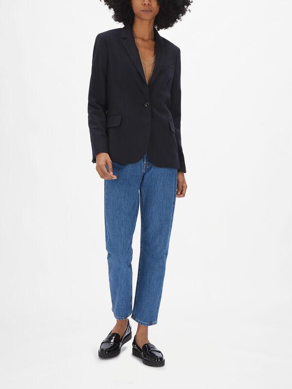 Classic Flannel Blazer