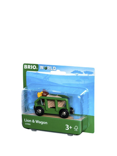 Safari Lion & Wagon