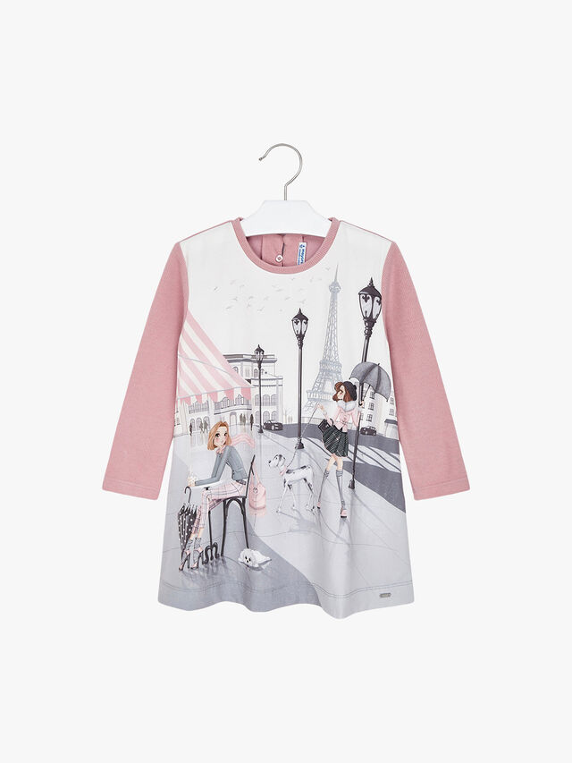 Paris Character Girl Dress