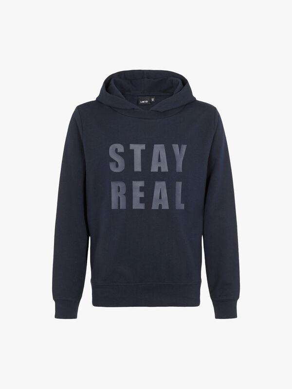 Stay Real Hoodie