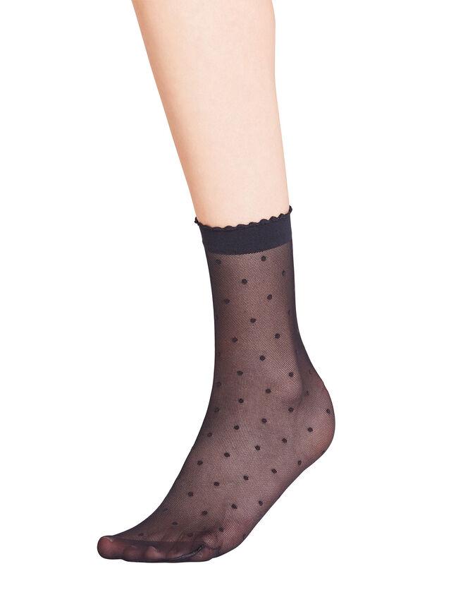 Dot 15 Denier Sock