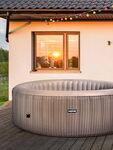 Atlantic Plus Rattan Effect Hot Tub