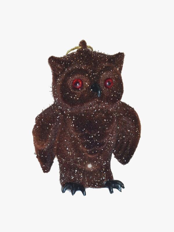 Owl Flock Ornament