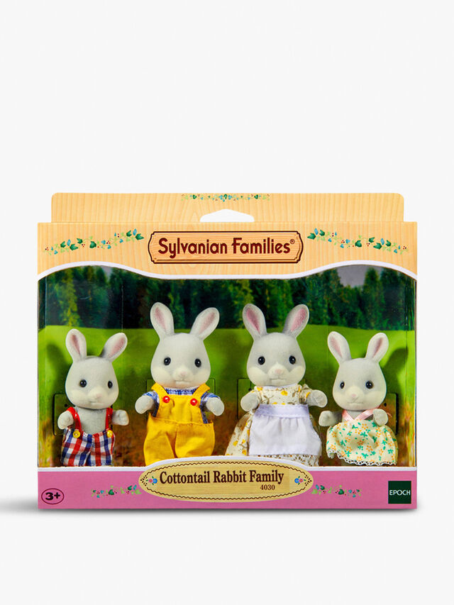 Cottontail Rabbit Family