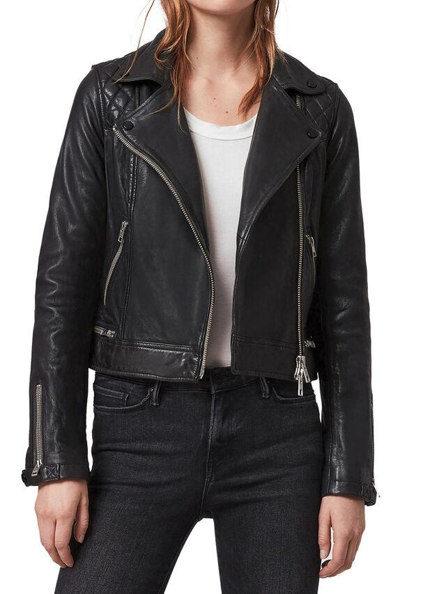 Conroy Leather Biker Jacket