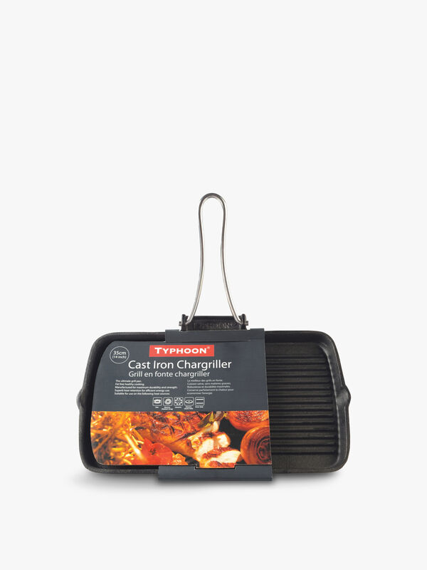 Cast Iron Chargriller 35cm