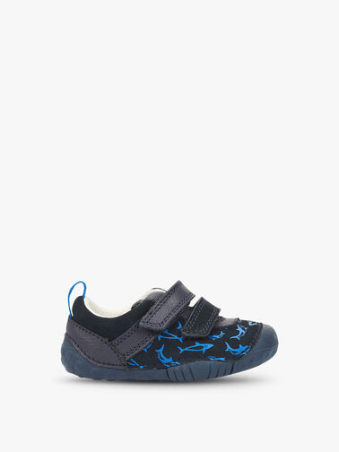 Little-Fin-Navy-Nubuck-Baby-Shoes-0777-9