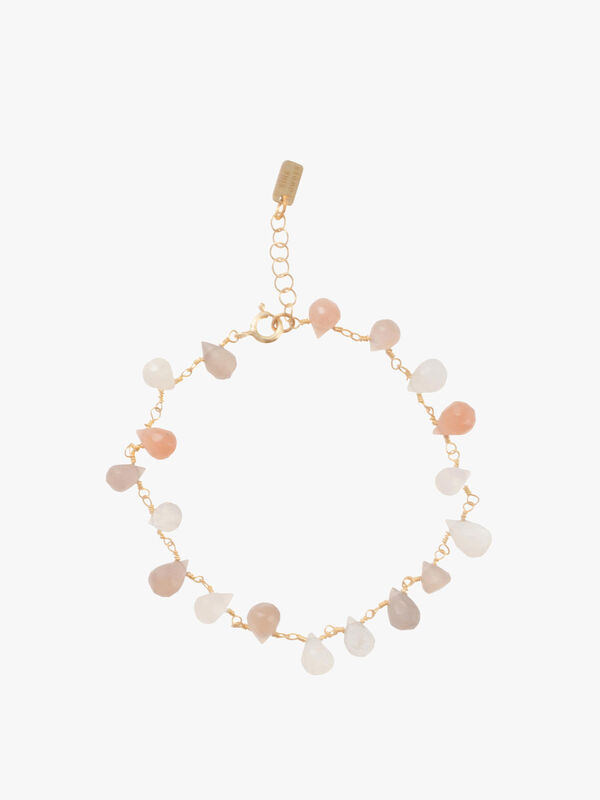 Multicolour Mini Drop Bracelet