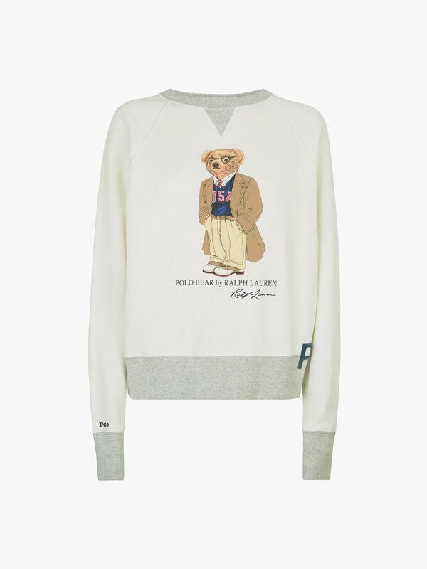 Bear Long Sleeve Sweater