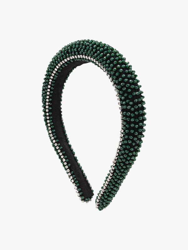 Guayana Beaded Padded Headband