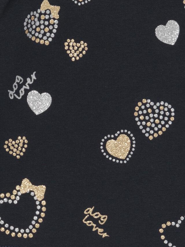 Glitter Hearts Top