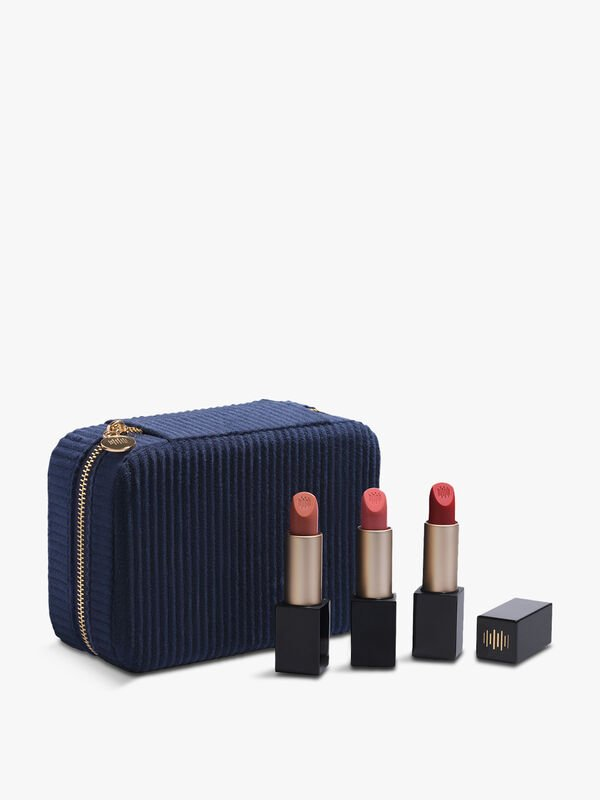 Code8 x Alexa Chung's All Day Soirée Lipstick Trio- Luxury Jewel case